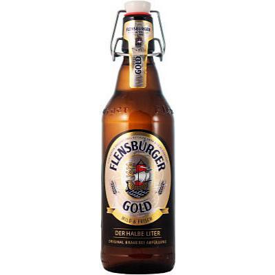 бира Фленсбургер 500мл Голд