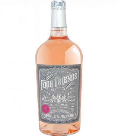 вино Фоур Френдс 1л Розе 2018г