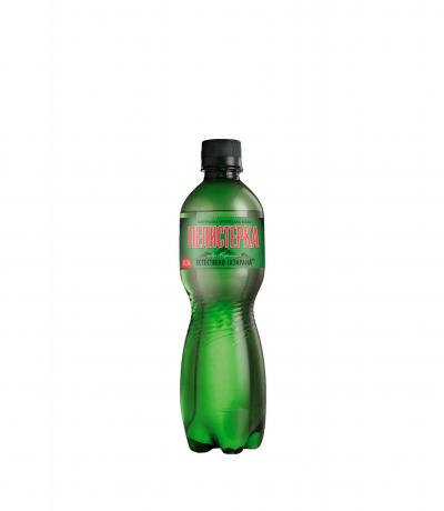 натурална минерална естествено газирана вода Пелистерка 500мл