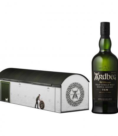 уиски Ардбег 700мл 10г празнична, колекционерска кутия