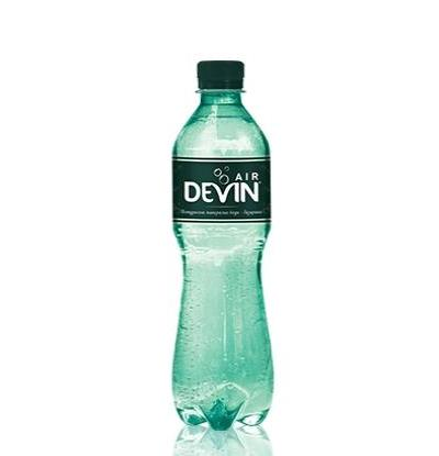 газирана натурална минерална вода Девин 300мл AIR