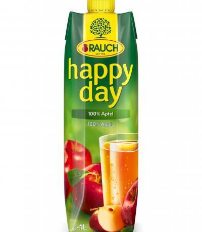 натурален сок Раух Хепи Дей 1л Ябълка 100%