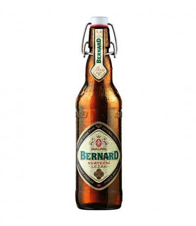бира Бернард Лагер Светла Специална Суинг 500мл Бутилка