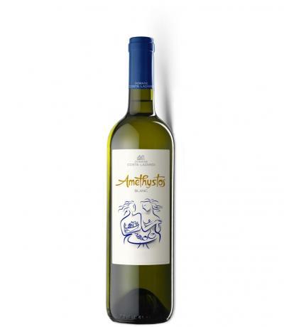 вино Аметистос 750мл Бяло