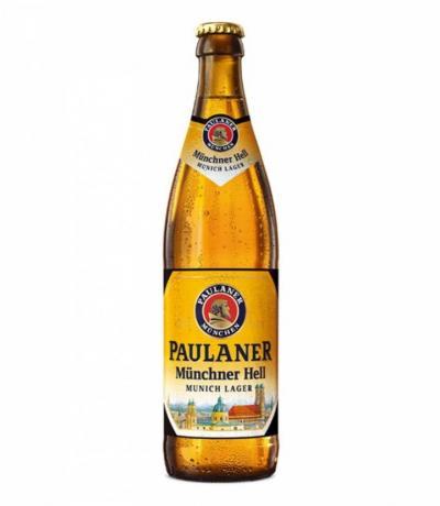 бира Пауланер 500мл Мюнхен Стъклена бутилка