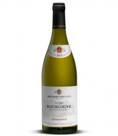 вино Бушар Пер е Фис 375мл Бургон Шардоне Ла Вине 2015г