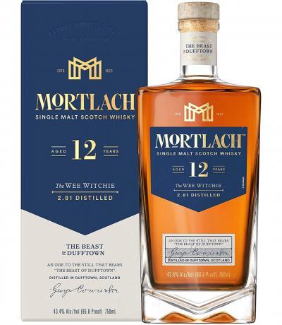 Уиски Мортлах 12г кутия 700мл