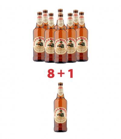 бира Морети 330мл пакет 8 + 1