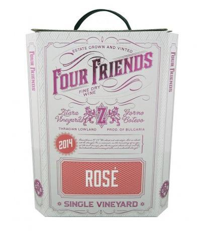 вино Фоур Френдс 3л Розе 2018г
