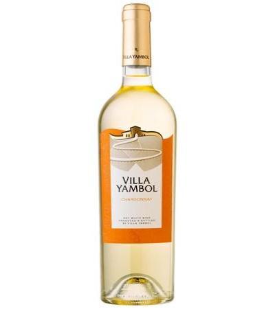 вино Вила Ямбол 750мл Шардоне