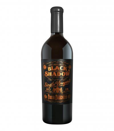 вино Фоур Френдс 750мл Блек Шадоу