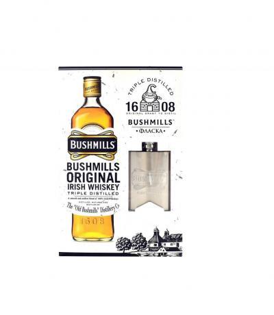 уиски Бушмилс 700мл с Фласка