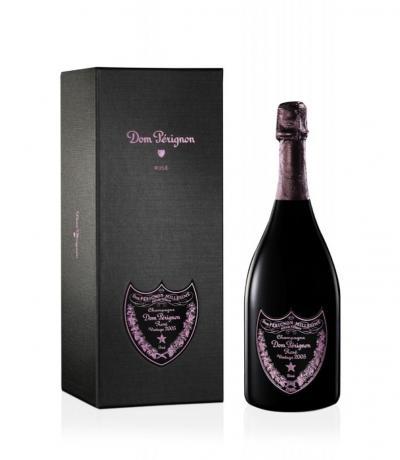 шампанско Дом Периньон 750мл Розе 2005 с кутия