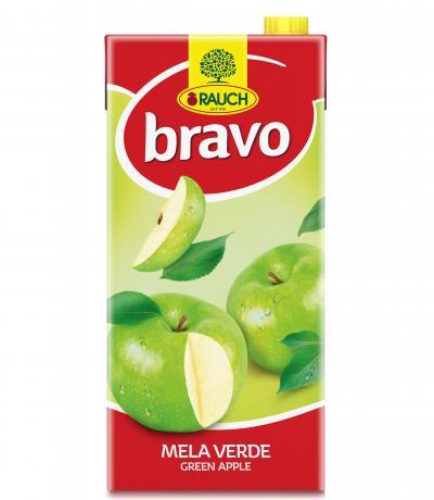 напитка Раух Браво 2л Зелена ябълка 40%