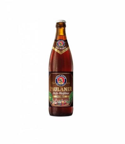 бира Пауланер 500мл Хефевайс Стъклена бутилка