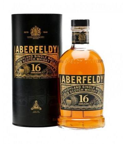 уиски Дюърс Аберфелди 700мл 16г. сингъл малц
