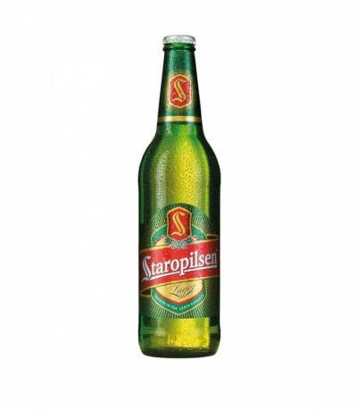 бира Старопилзен 500мл Стъклена Бутилка