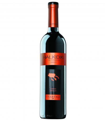 вино Халкидики 750мл Мерло