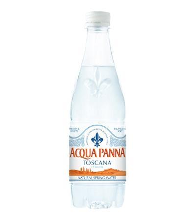 минерална вода Аква Панна 500мл бутилка PET