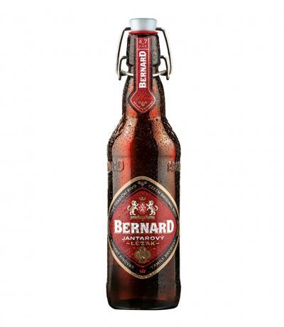 бира Бернард Лагер Червена 12' Специална Суинг 500мл Бутилка