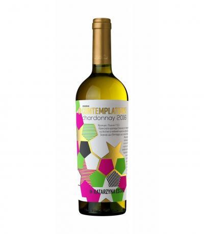 вино Катаржина Контемплейшън 750мл Шардоне