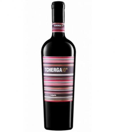 вино Черга 10* 750мл Мерло, Каберне Совиньон и Рубин
