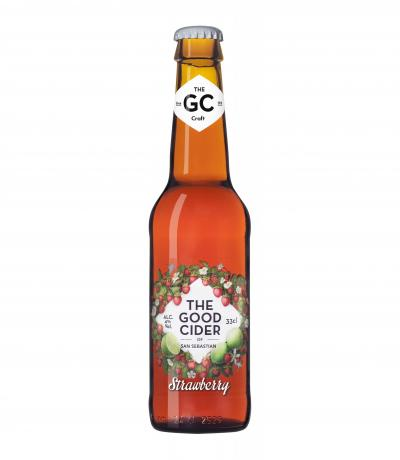 сайдер The Good Cider 330мл Strawberry