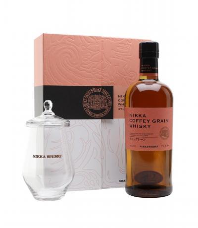 Уиски НИККА КОФИ ГРЕЙН  кутия с чаша 700мл