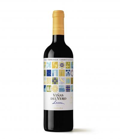 вино Виняс дел Веро 750мл Лукс Сира Темпранийо и Каберне Совиньон