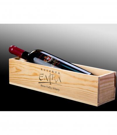 вино Енира 1500мл Резерва Магнум дървена кутия