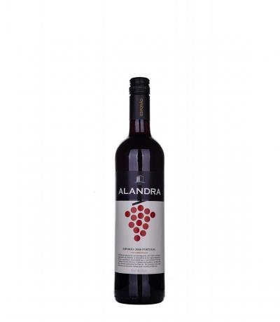 вино Ешпорао Аландра 750мл Червено Тринкадейра, Кащелао, Морето 2016г
