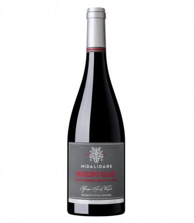 вино Мидалидаре Могилово 750мл Каберне Совиньон, Мерло и Пти Вердо 2016г