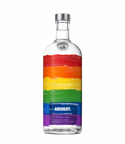 водка Абсолют 1000мл RAINBOW Лимитирана серия