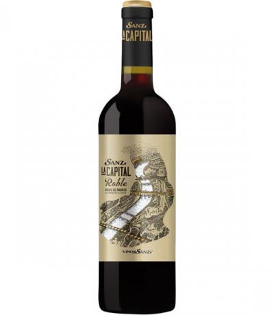 вино Санз Испания 750мл Ла Капитал Робъл