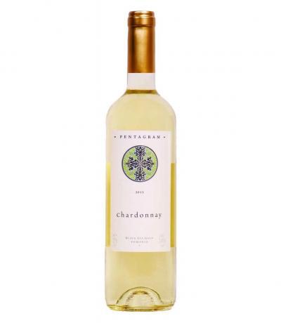 вино Поморие Пентаграм 750мл Шардоне