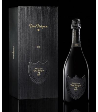 шампанско Дом Периньон 750мл 2000г с кутия - P2