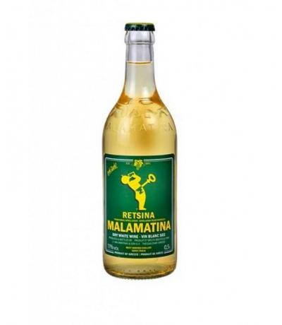 вино Рецина Маламатина 500мл