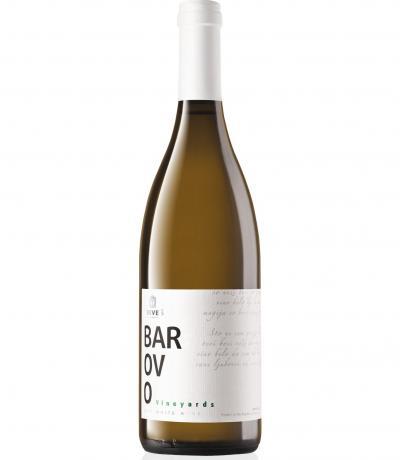 вино Тиквеш 750мл Барово Бяло Совиньон блан