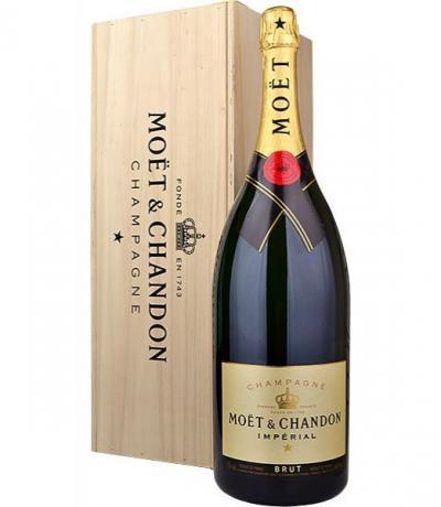 шампанско Моет и Шандон Брут Империал 6л  Mathusalem- подаръчна кутия