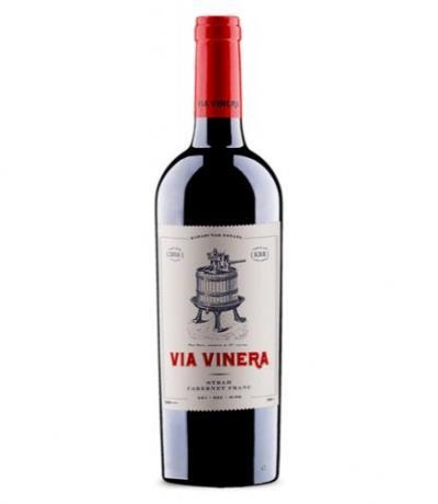 вино Виа Винера 750мл Сира и Каберне фран