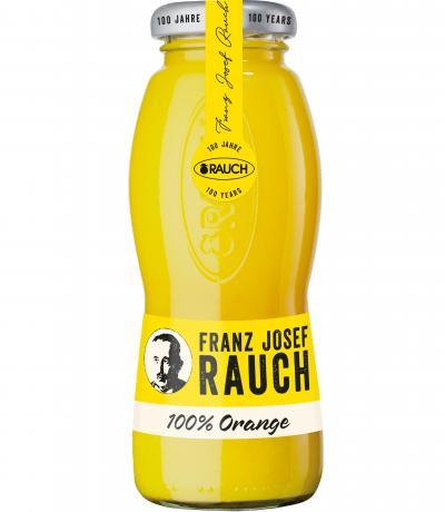 натурален сок Раух 200мл Портокал с парченца плод