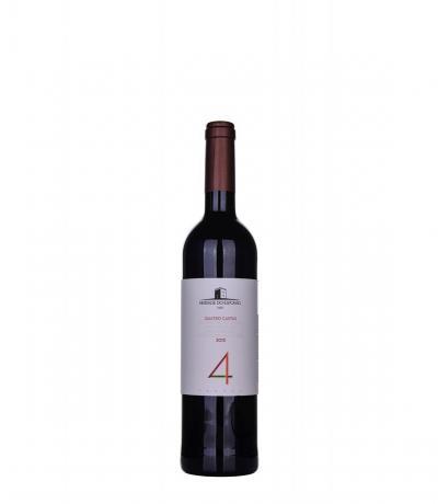 вино Ешпорао Куатро Кащаш 750мл Червено