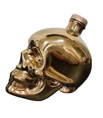 Водка Керамика Златен Череп 500мл
