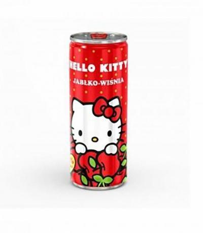плодова напитка Хелоу Кити 250мл Ябълка и Череша Кен