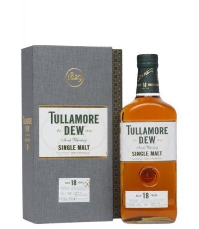 уиски Тюламор Дю 700мл Сингъл Малц 18 год.