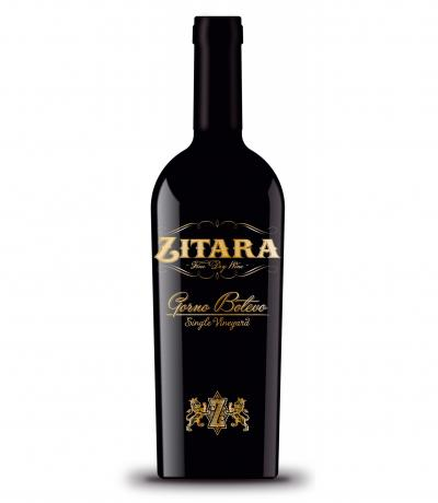 вино Зитара 750мл Премиум Резерва Горно Ботево 2015г