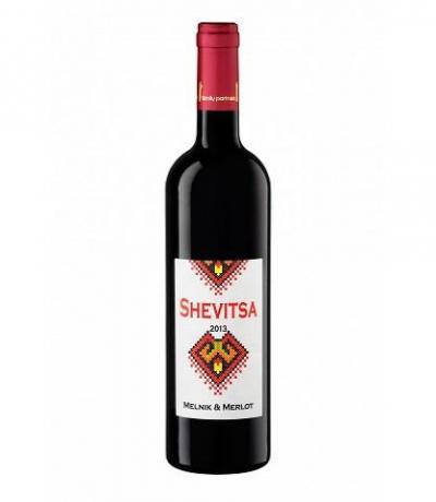 вино Орбелия Шевица 750мл Мерло и Мелник 2013