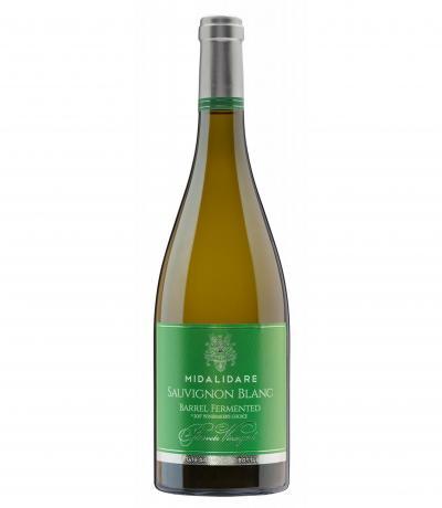 вино Мидалидаре 750мл Совиньон блан Барел Ферментед 2018г