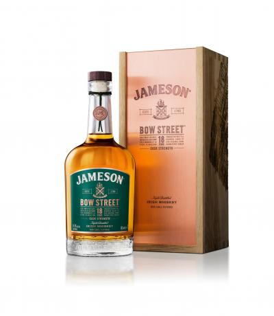 уиски Джеймисън 700мл Каск Стрент 18г Боу