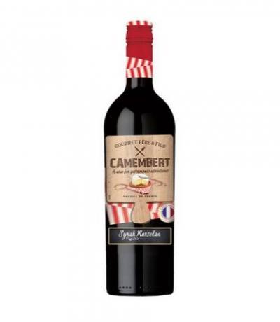 вино Камембер Сира и Марселан 750мл Паи Д`Ок